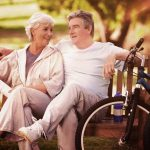 Older Couple Bench Bikes 1280x853 150x150
