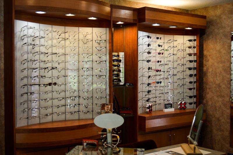 Optical frames on board 3