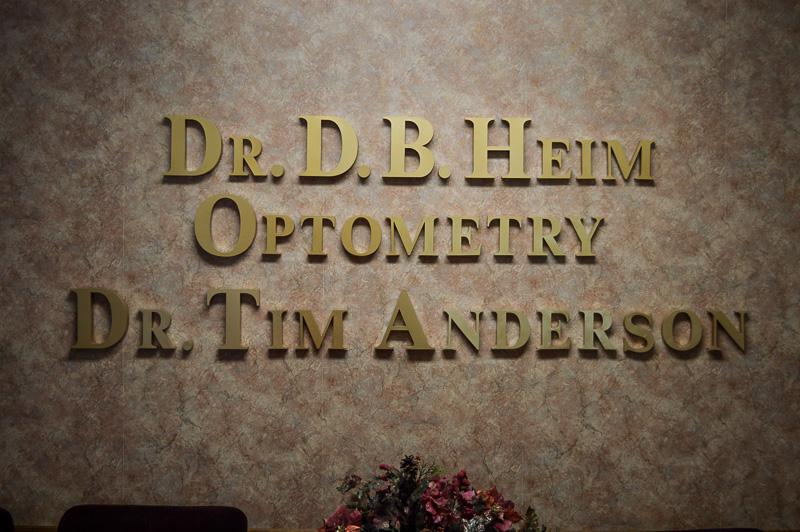 Prrofessional Vision Center wall plaque 1