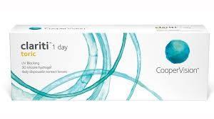 coopervision clariti 1 day toric