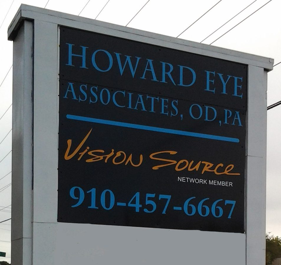 howard eye associates sign
