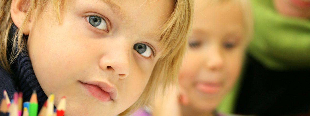 Eye care, boy a school in Billings, MT