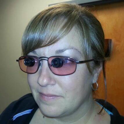 woman wearing reverse bioptics 640.jpg