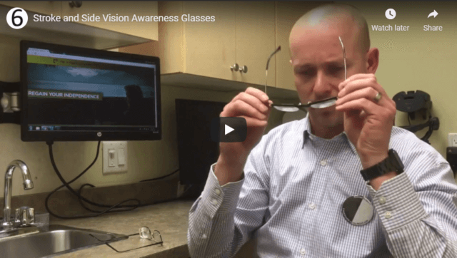 Stroke and Side Vision Awareness Glasses YouTube