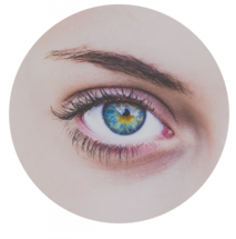 green circle eye 213×215