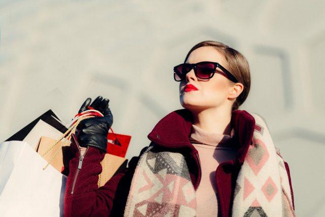 Woman Wearing Designer Eyeglass Frames in Ottawa, ON