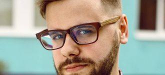 Man wearing eyeglasses in Albemarle