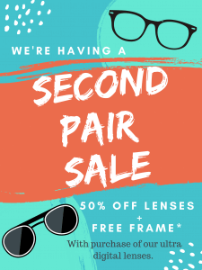 Second Pair Sale