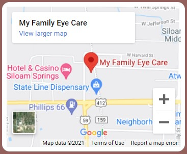 My Family Eye Care Map