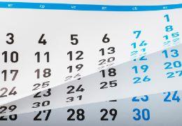 calendar260x180