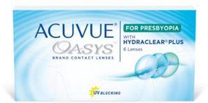 Acuvue Oaysis 2 wk presbyopia