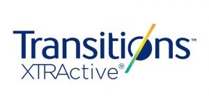 Transitions XTRActive White Logo CU