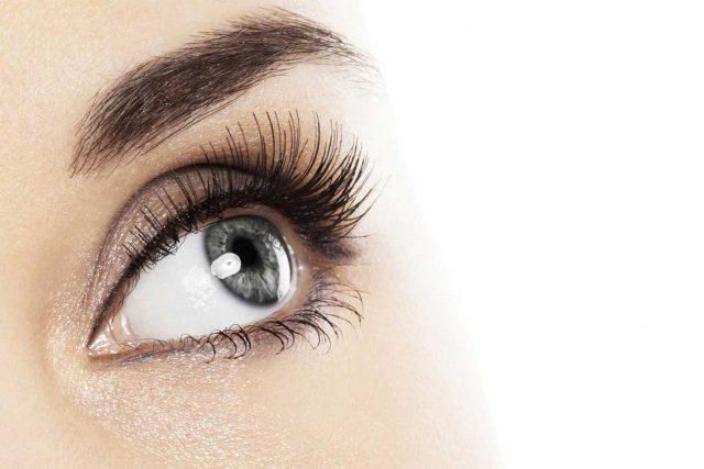 eye care, woman wearing EyePrintPro specialty contact lenses in Houston, TX