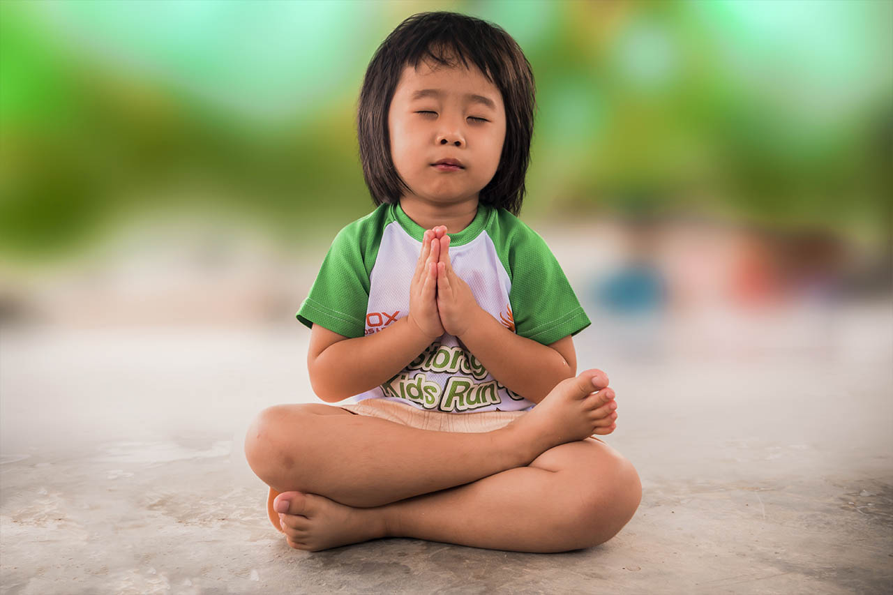 Girl Asian Yoga Meditation 1280×853