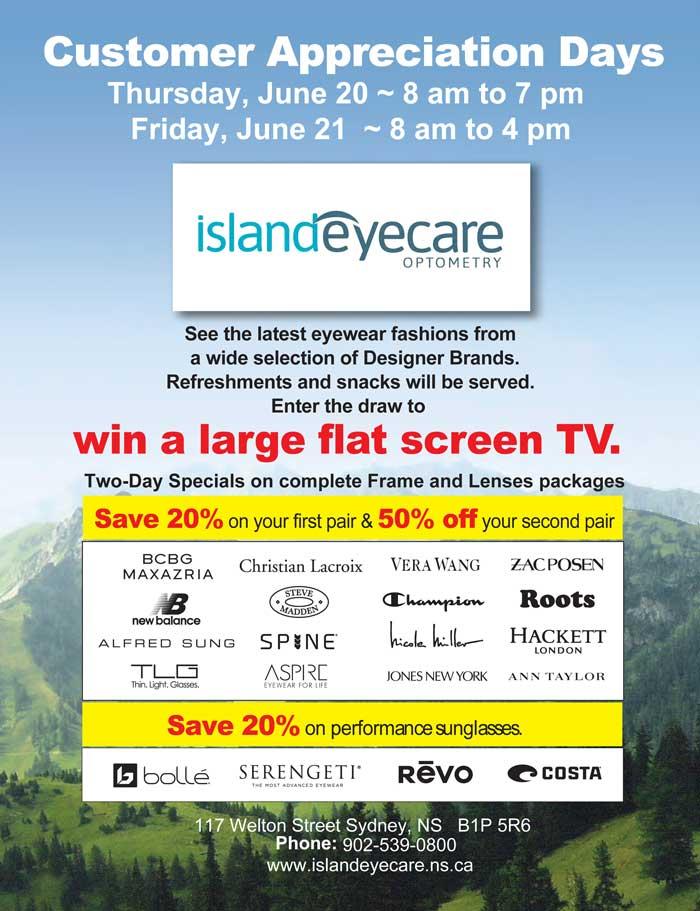 Island Eyecare CDay graphic