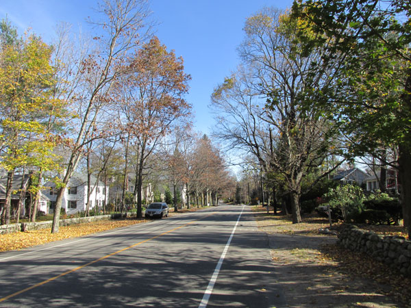 Boston Post Road, Weston MA