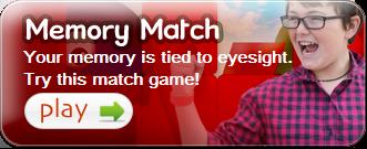 kids vision memory match