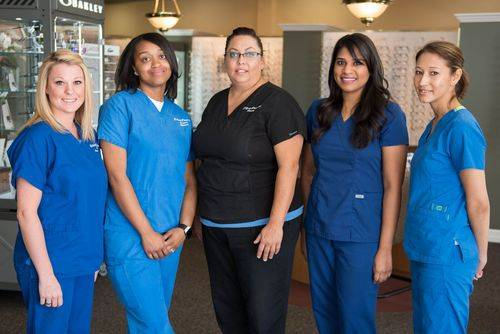 Optical Staff - Leah, Andrea, Christy, Shani and Kristine