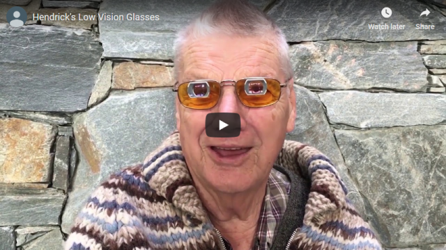 Screenshot 2019 03 19 Hendricks Low Vision Glasses YouTube