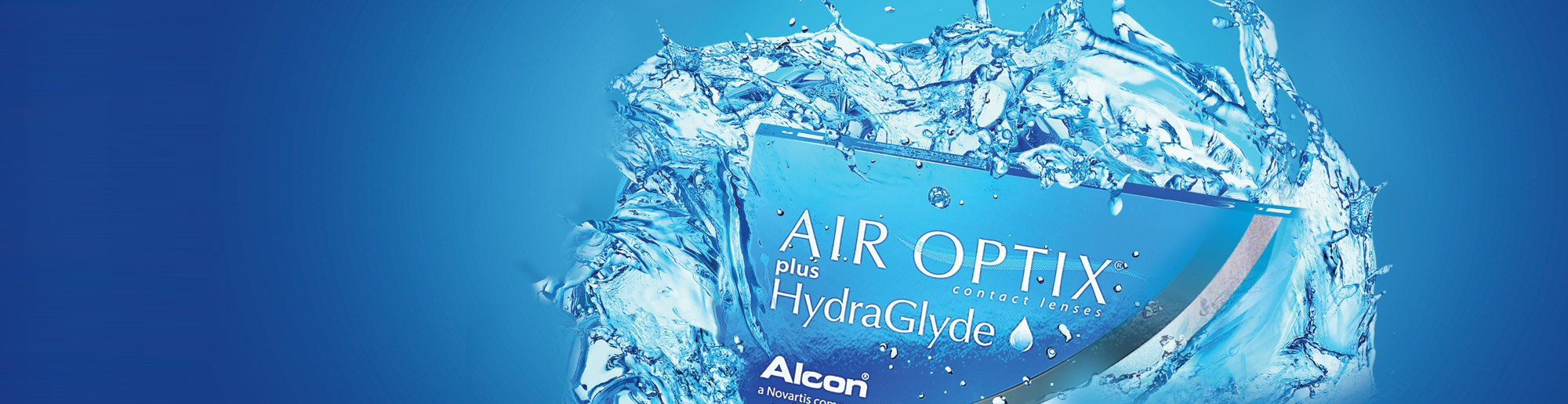 Ad for air optix plus hydraglyde in Johnstown, PA