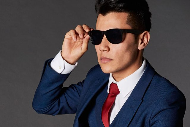 Optometrist,Man Wearing Sunglasses in Fort Dix,NJ.