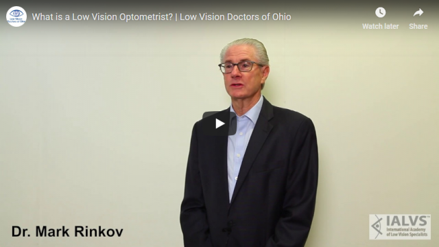 Screenshot 2019 04 30 What is a Low Vision Optometrist Low Vision Doctors of Ohio YouTube