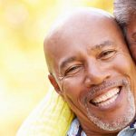 Happy african-american couple