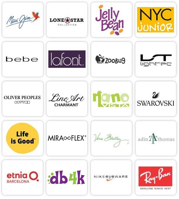 eyeglass logos