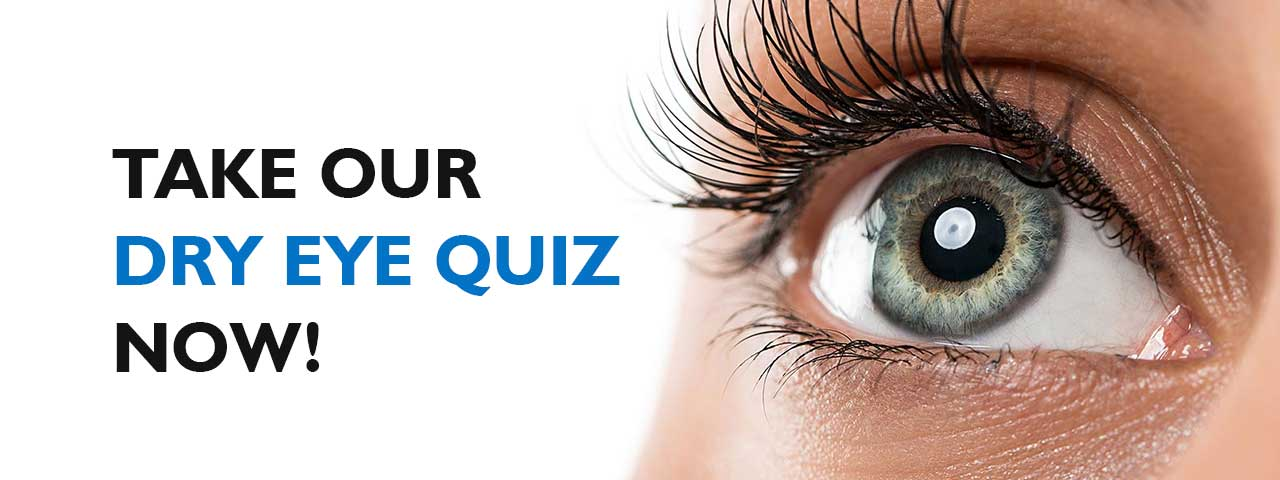 Ad for our Dry Eye Quiz in Fair Lawn, NJ