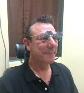 Low Vision Patient, Wayne Fielder