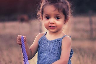 child cute girl
