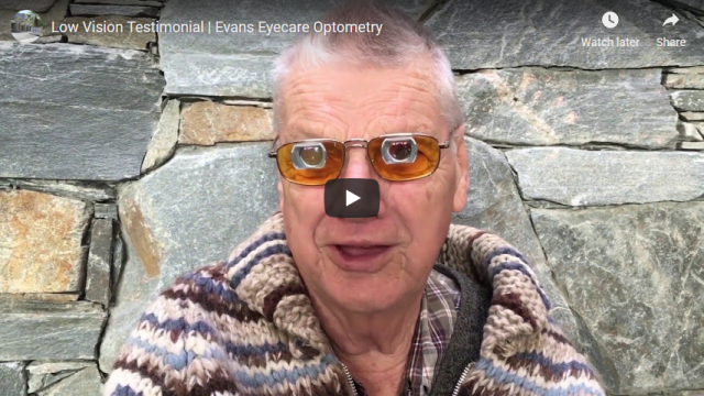 Screenshot 2019 04 05 Low Vision Testimonial Evans Eyecare Optometry YouTube