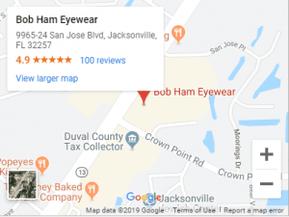 Bob Ham Eyewear Google Maps