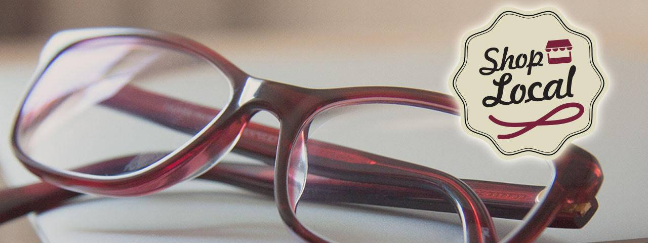 shoplocal purple glasses slide