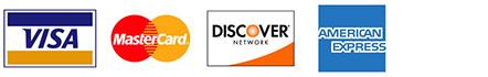 visa mc disc amex logos