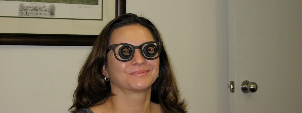 bioptic telescope glasses for low vision