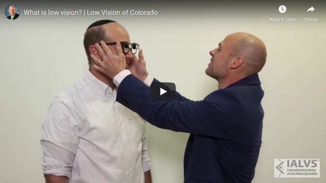 Screenshot 2019 07 17 What is low vision Low Vision of Colorado YouTube