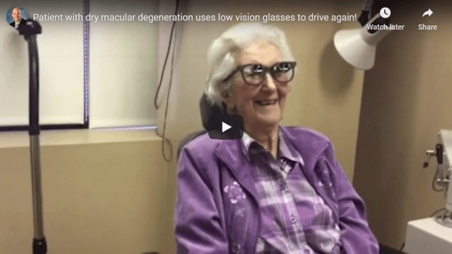 Screenshot 2020 04 12 Patient with dry macular degeneration uses low vision glasses to drive again
