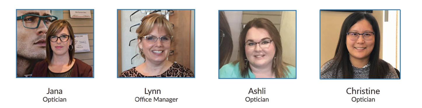Our eye care staff at Orillia Eyewear & iCare