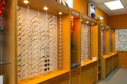 glasses rack