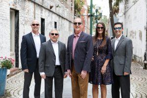 Team of Doctors in sunglasses