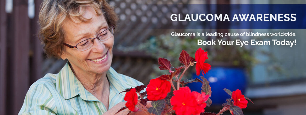 Older woman with glasses at Modern Eye Care | Glaucoma: Detection and Prevention