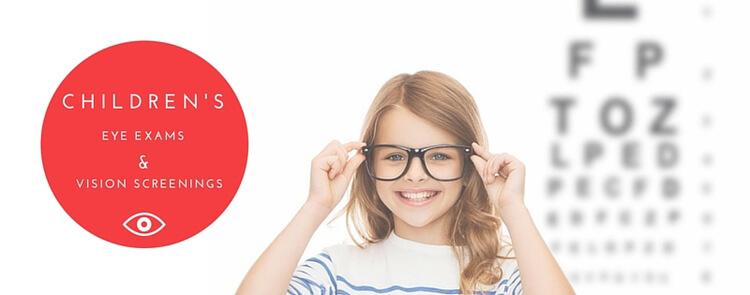 childrens eye exam