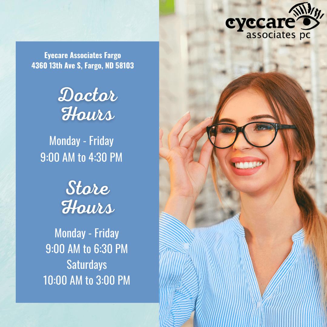 Eyecare Associates of Fargo Doctors Hours