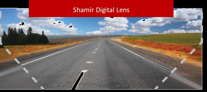 Shamir Digital lens example