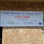 Vosh Northwest mission sign