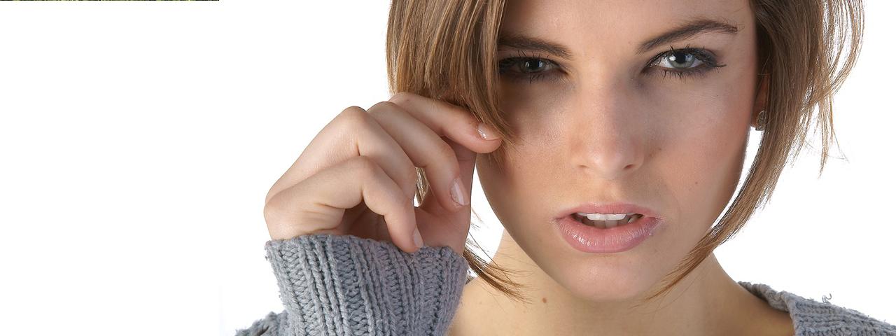 Eye doctor, woman suffering from eye infection in Brea, CA