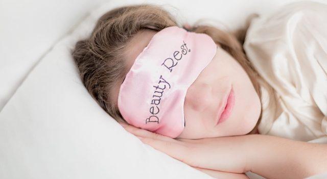 Tesla City eye doctor treating eye open during sleep
