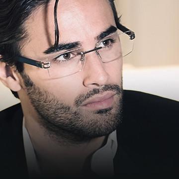 Man with designer glasses - eye doctor - Philadelphia, PA
