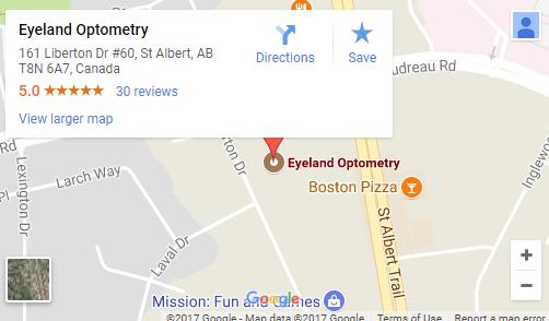 eyelandoptometry map